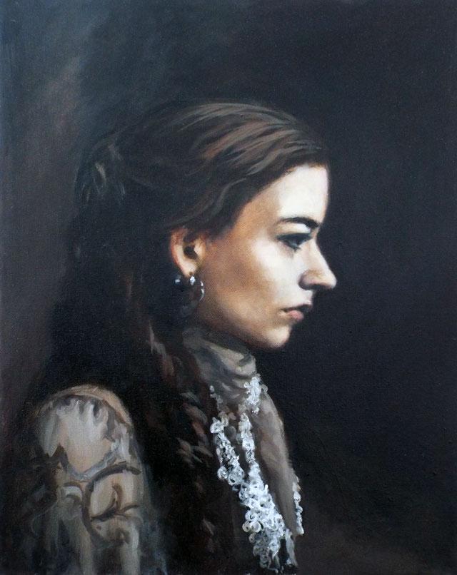 self-portrait-in-profile