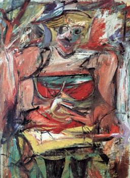 Willem de Kooning, Woman V, 1952-53