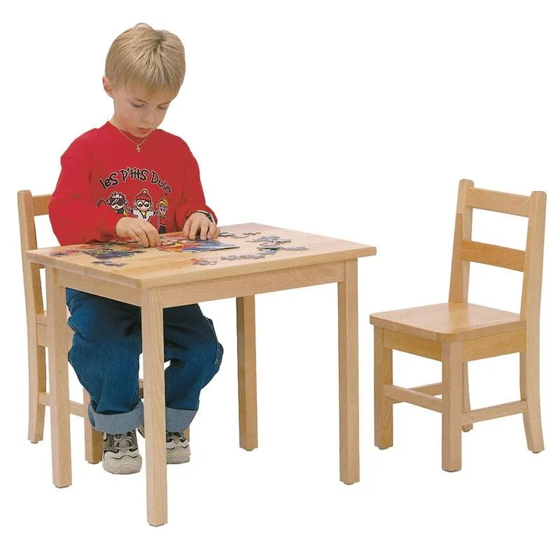 table et chaises en bois jb poitras clement