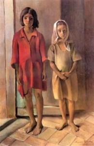 Un quadro di Maria Padula