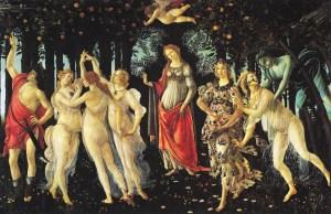 La Primavera, Sandro Botticelli, 1477-1482, Galleria degli Uffizi, Firenze