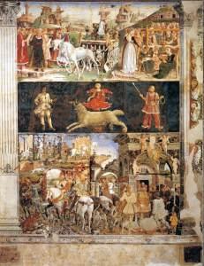 Mese di Marzo, Francesco del Cossa, 1470, Salone dei Mesi, Palazzo Schifanoia Ferrara