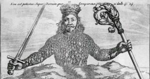 Hobbes, Il Leviatano: Il mostro ha il corpo fatto di tanti omini