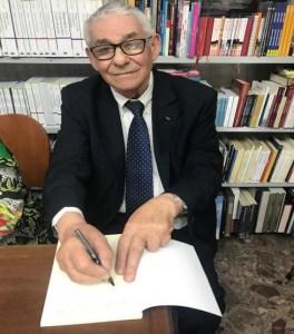 Adolfo Giuliani - Foto recente alla libreria Pironti