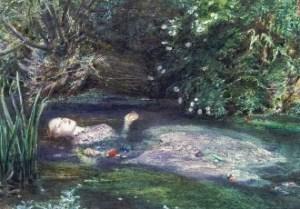 J. E. Millais, Ofelia