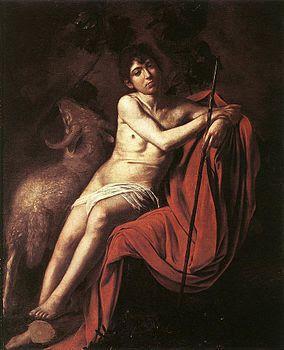 Caravaggio, il Battista