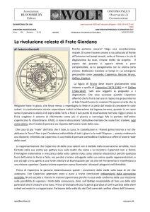 thumbnail of GF GIANDOLFI La rivoluzione celeste di Frate Giordano