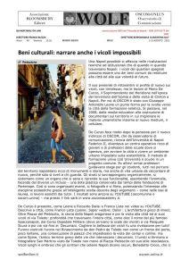 thumbnail of W Redazione Vicoli possibili