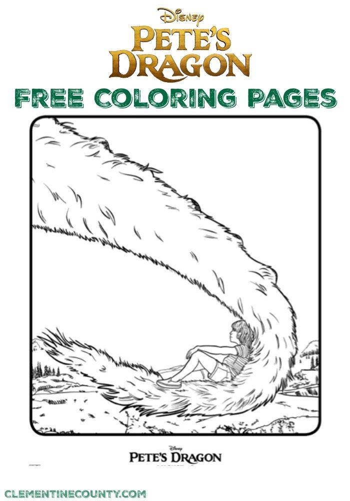 PetesDragonFreeColoringPages