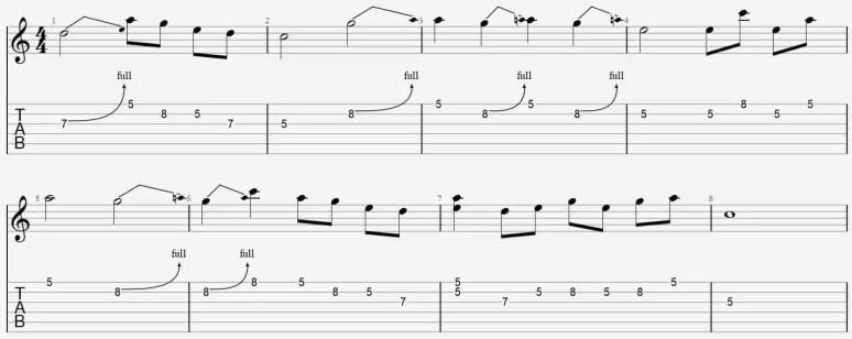 Improvisation bending méthode facile débutant