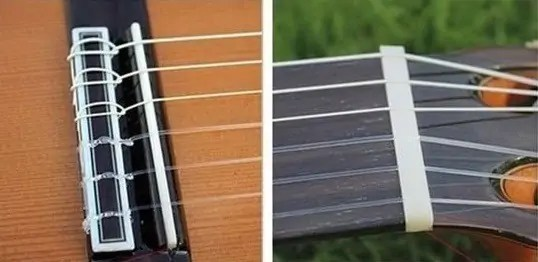 éviter mal aux doigts guitare corde nylon