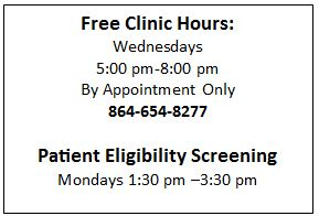 Free Clinic Hours