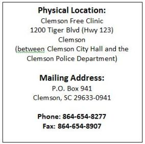 Location and Mailing Address