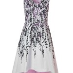 Purple Floral Dress With Pockets Cleo