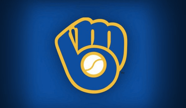 Subliminal message in blue and yellow logo of the Milwaukee Brewers baseball team