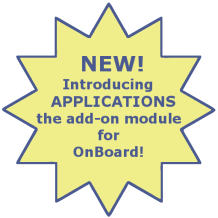 Introducing Applications, the add-on module for OnBoard