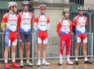 L'équipe de l'ECCF à Olliergue
