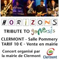 HORIZONS : GENESIS tribute band, samedi 25 avril 2015 - Clermont (Oise)