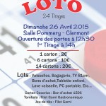 LOTO - Eveil Gymnique, dimanche 26 avril 2015 - Clermont (Oise)