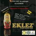 Concert de Musique Klezmer, dimanche 19 janvier 2014 - Clermont Oise