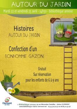 Autour du jardin, vendredi 25 avril 2014 - Clermont Oise