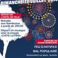 Fête Nationale 2014, dimanche 13 juillet - Clermont Oise