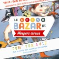 Bibliothèque - Com' ton avis - spectacle des Weepers Circus - Clermont Oise