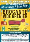 Brocante - Vide Grenier de Clermont 2015, dimanche 7 juin - Clermont Oise