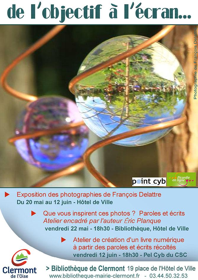 De l'objectif à l'écran - Atelier de création d'un livre numérique, vendredi 12 juin 2015 - Clermont Oise
