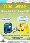 Troc Livres 2015 - 2ème matinée, samedi 13 juin 2015 - Clermont Oise