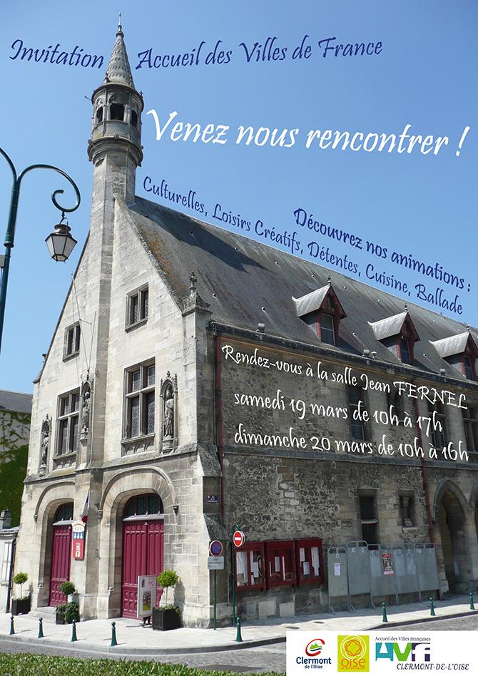 """Accueil des Villes de France : """"Venez nous rencontrer !"""""""