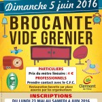 Brocante Vide Grenier de Clermont 2016