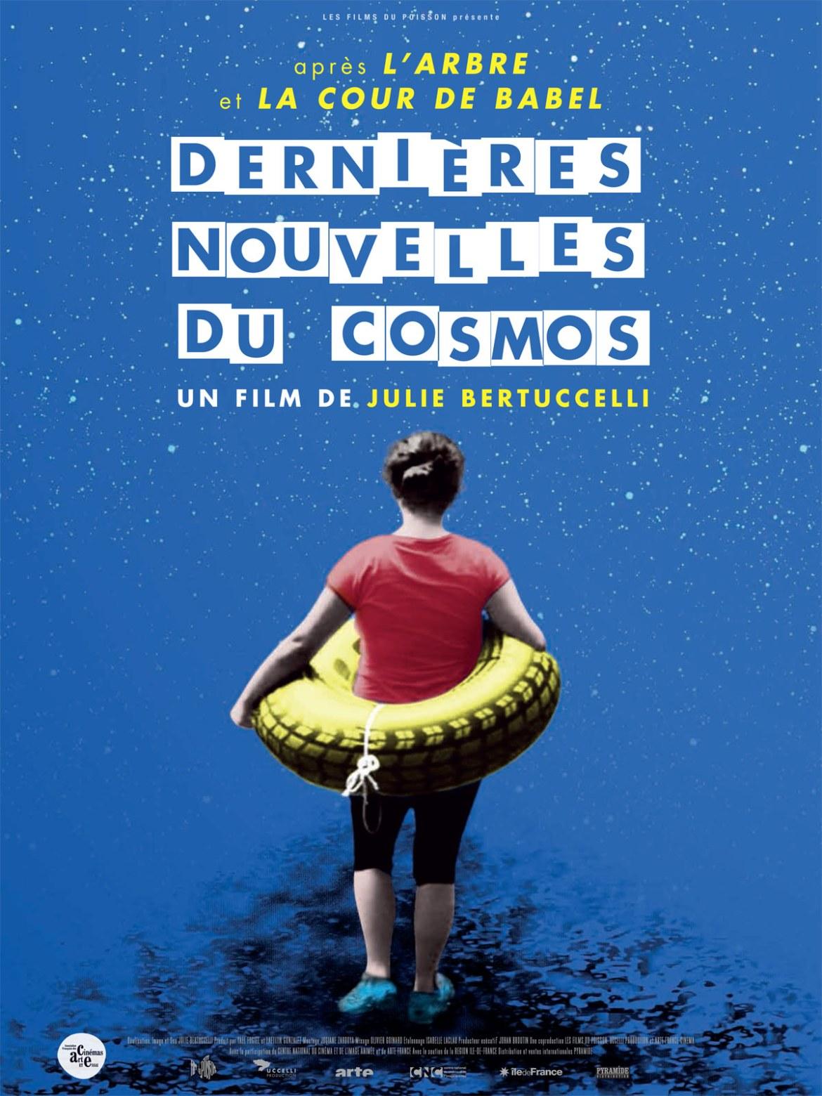 """Toute l'équipe du ciné-débat vous présente leurs meilleurs vœux et vous convie au Ciné Débat Santé Mentale, le samedi 28 janvier 2017, 17h, Cinéma du Clermontois, autour du film """"Dernières nouvelles du cosmos"""" de Julie Bertuccelli."""
