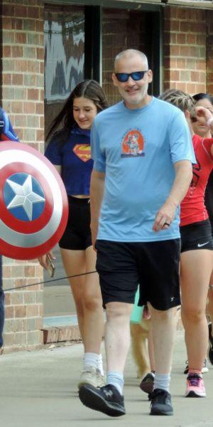 WAGS Race Berea Captain America
