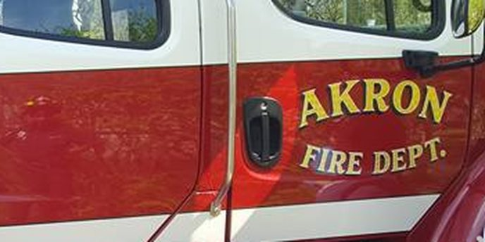 Sprinkler system extinguishes fire at Akron compost company (image)