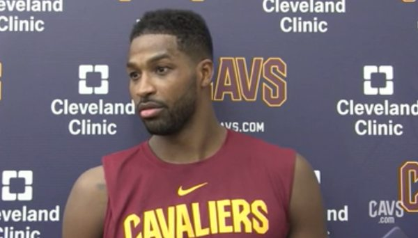 NBA players laugh as Tristan Thompson says Cavs are still ...