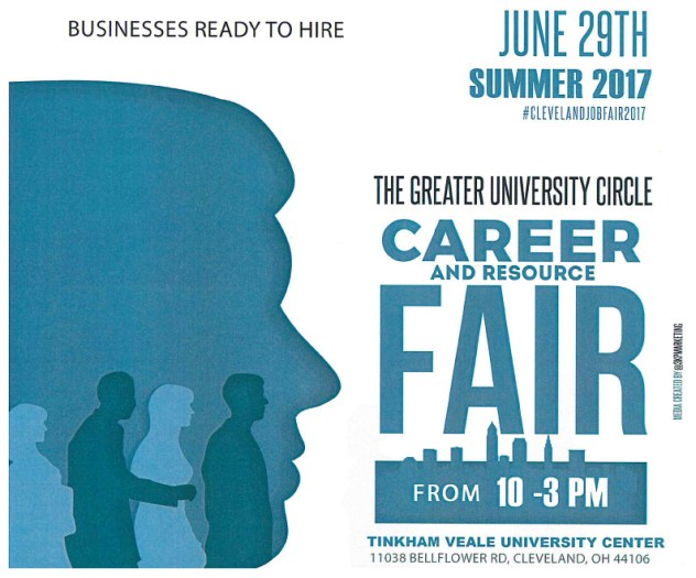 Greater University Circle Career and Resource Fair @ Tinkham Veale University Center | Cleveland | Ohio | United States