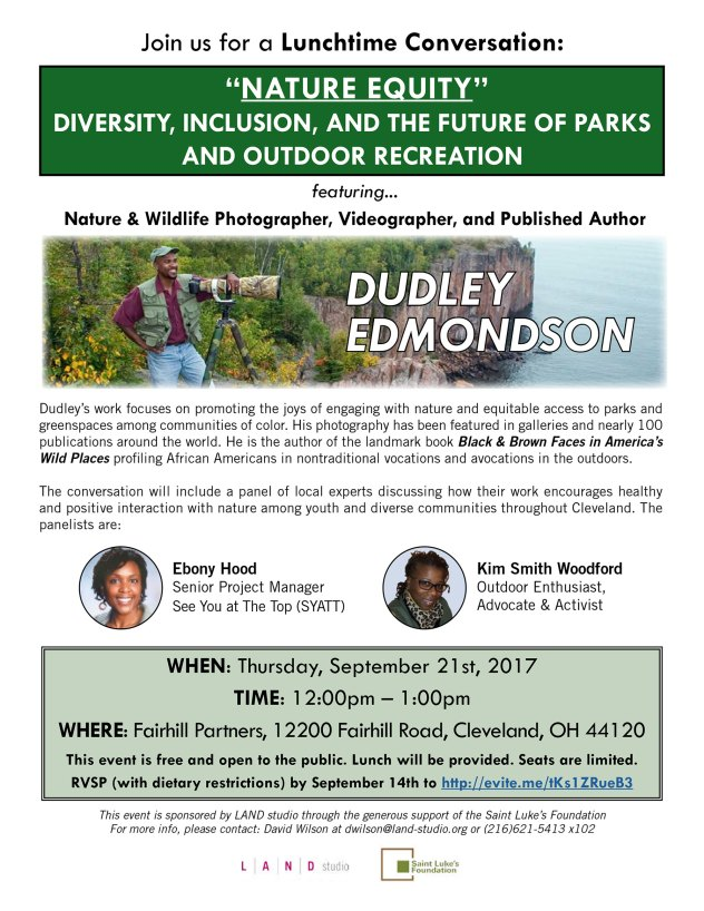 Nature Equity: A Lunchtime Conversation @ Fairhill Partners | Cleveland | Ohio | United States