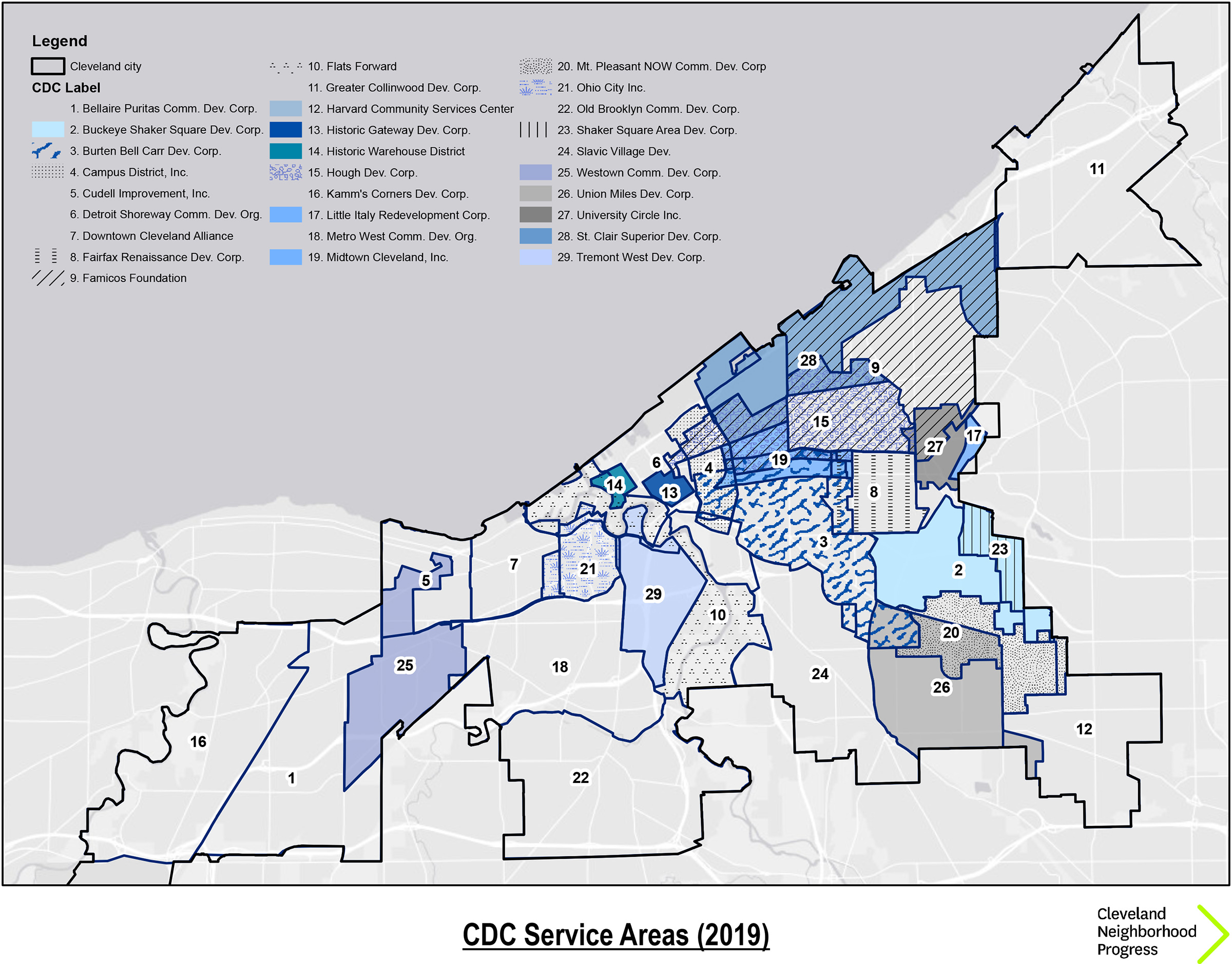 cle-cdcs-map - Cleveland Neighborhood Progress