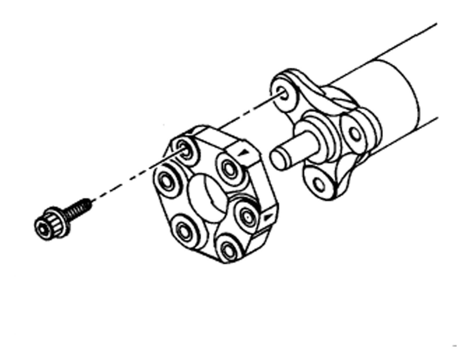 Chevrolet C5 Corvette Manual Torque Tube 10mm