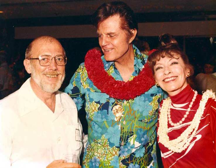 Hawaii Five-O's Jack Lord and Jim Doney