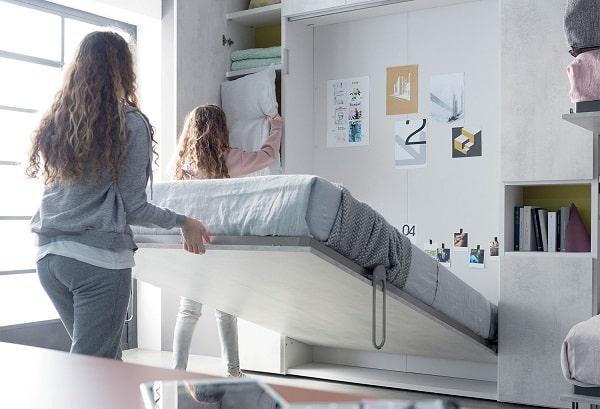 Pertanto, ci sono molti modi per decorare correttamente la stanza per loro. News 13 Idee Salvaspazio Per La Cameretta Clever