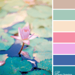 Lily pad glow colour scheme with sienna