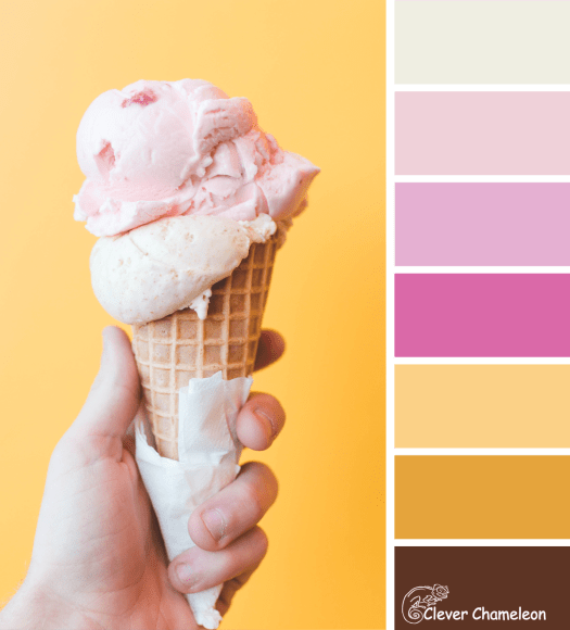 Ice-cream Tones color scheme by Clever Chameleon