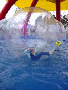 Bubble bump ride at the Show