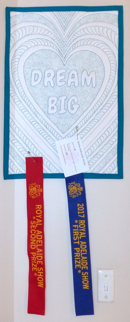 Dream Big with ribbons