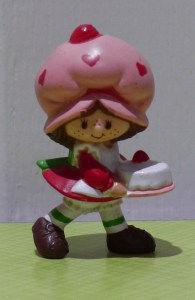 Strawberry Shortcake figurine