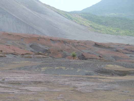 At the base of Mt Yasur
