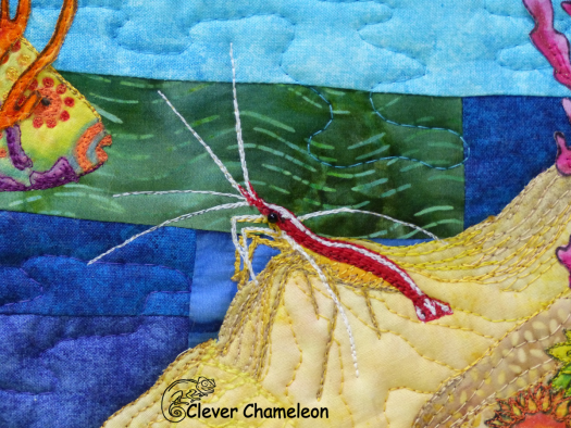Remember to thank the Cleaner (Shrimp) by Dione Gardner-Stephen