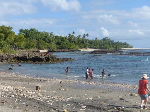 Tanna Island beach